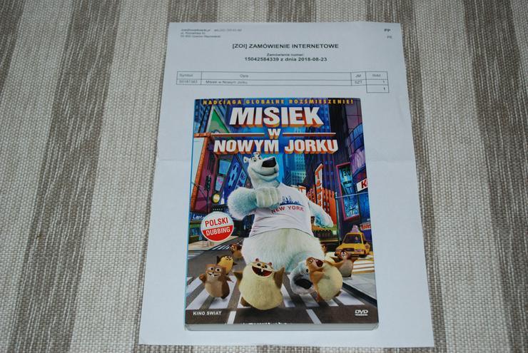 MISIEK W NOWYM JORKU DVD