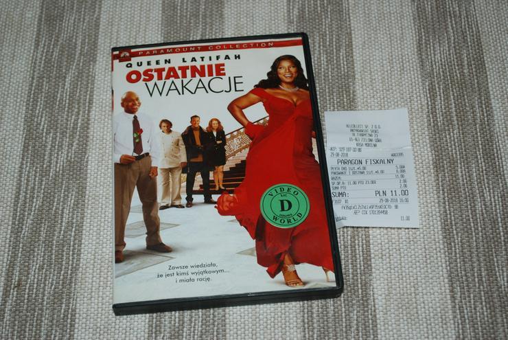 Ostatnie wakacje Gerard Depardieu DVD