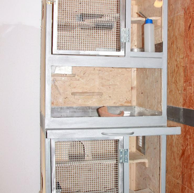 Käfig für Chinchillas - 1 oder 2 Boxen - Käfige, Ställe & Ausstattung - Bild 6