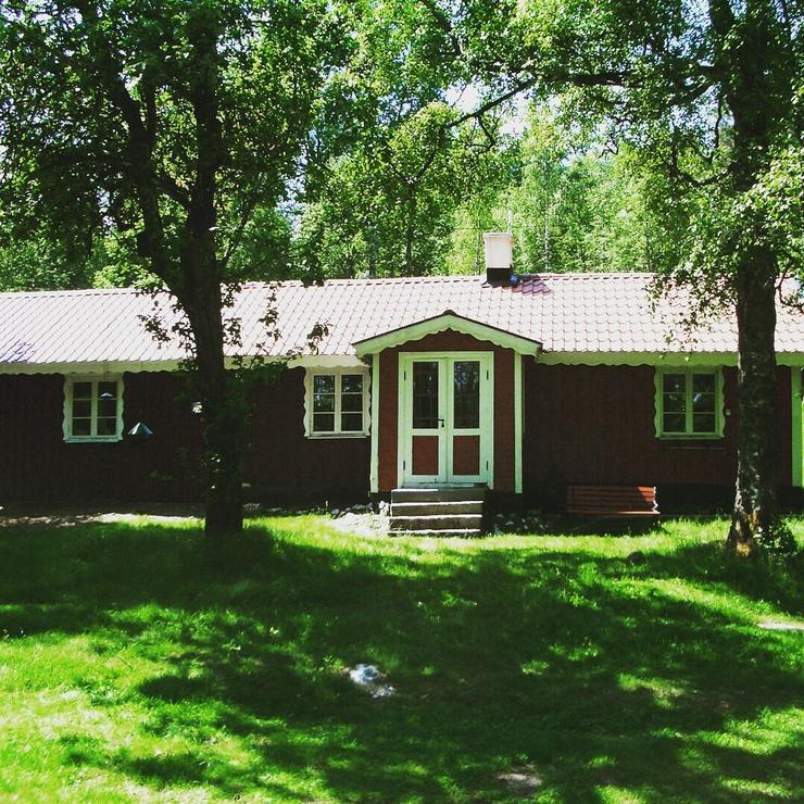 Ferienhaus in Südschweden am See mit Boot