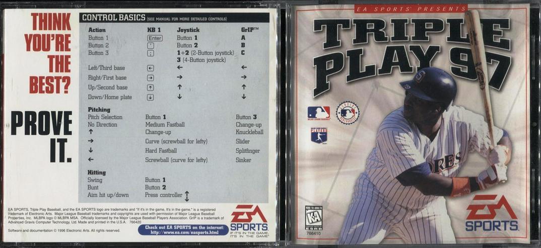 Triple Play 97 !! kultiges Baseball-Spiel