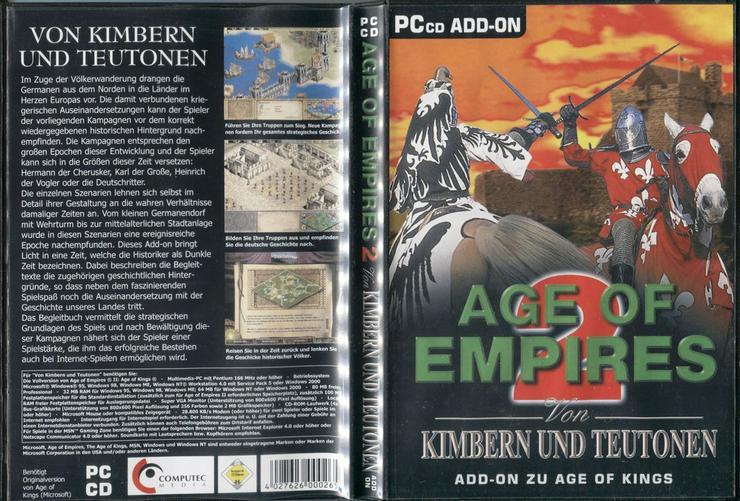 Age of Empires 2 - Von Kimbern & Teutonen