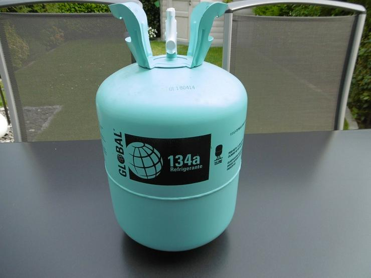 Bild 4: NEU  Kältemittel R134a 13,6 kg orig versiegelt