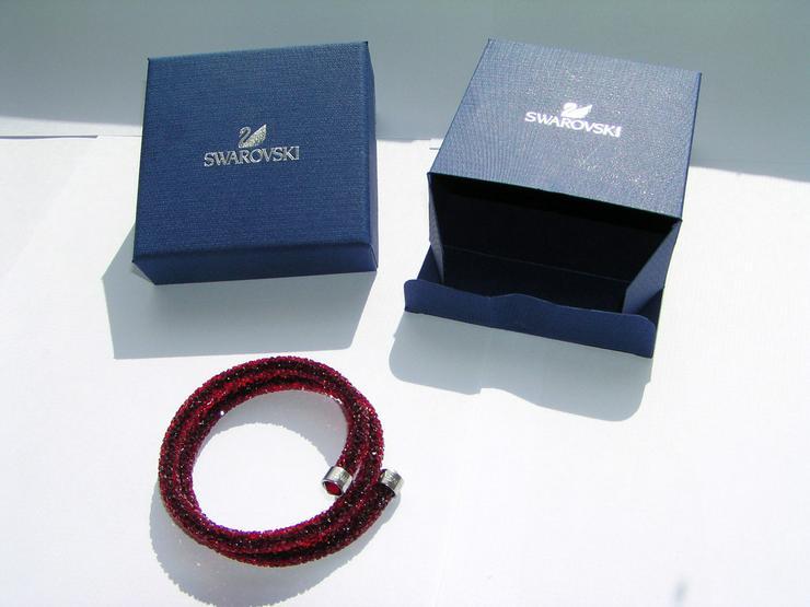 Armreif rot Swarovski Kristall Armband