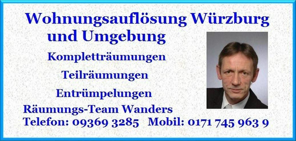 Bild 4: Wohnungsauflösung Würzburg und Umgebung Wanders