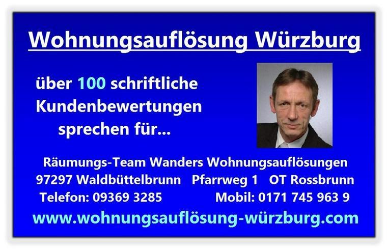 Bild 3: Wohnungsauflösung Würzburg und Umgebung Wanders
