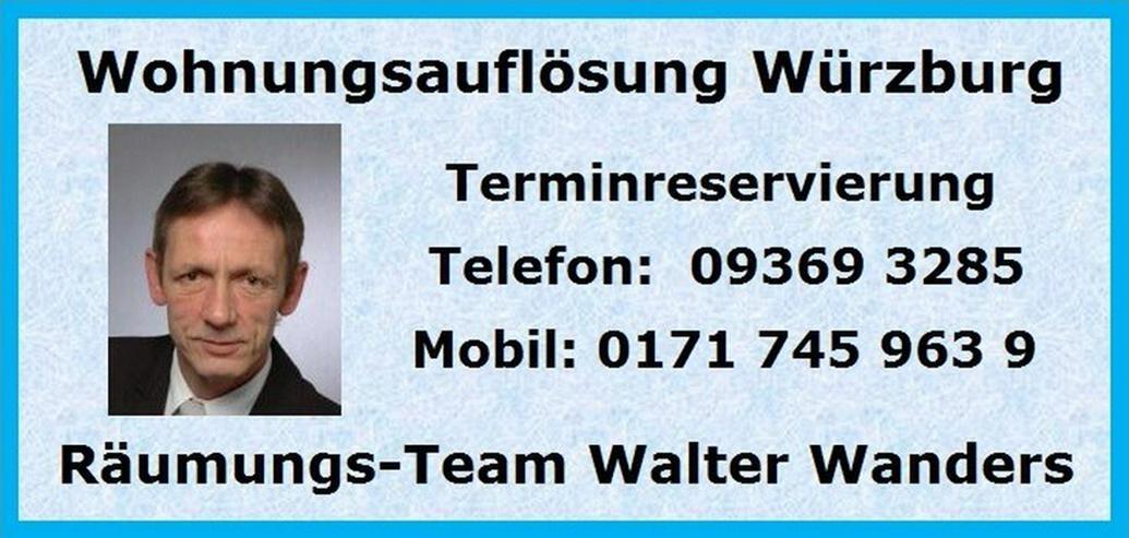 Bild 3: Wohnungsauflösungen Würzburg und Umgebung
