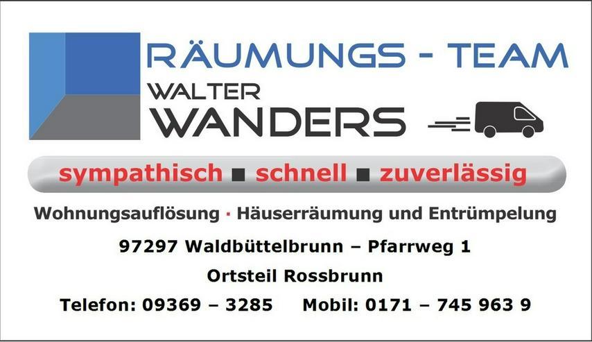 Bild 7: Wohnungsauflösungen Würzburg und Umgebung