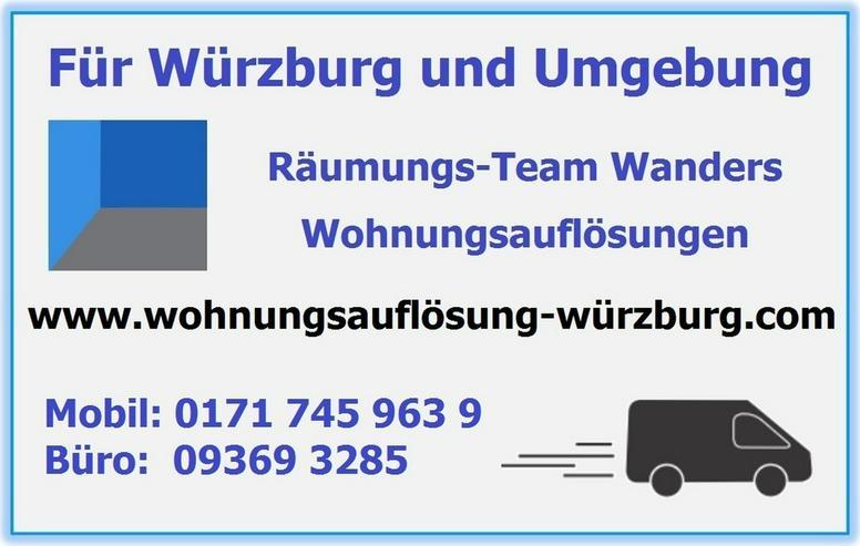Bild 8: Wohnungsauflösungen Würzburg und Umgebung