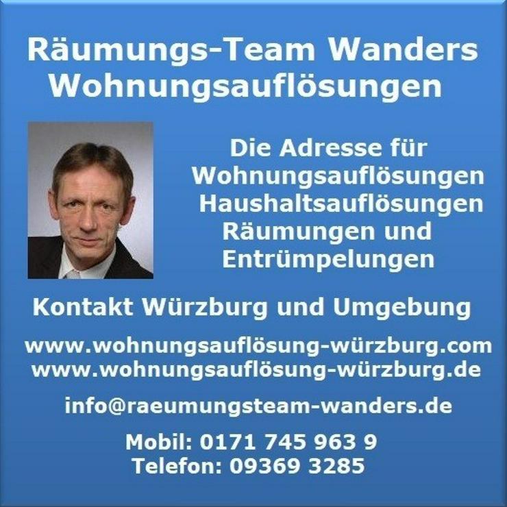 Bild 10: Wohnungsauflösungen Würzburg und Umgebung