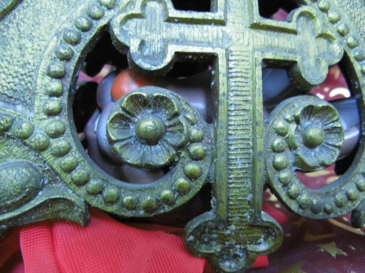 Bild 3: Antiker sakraler Kerzenhalter / Altarleuchter