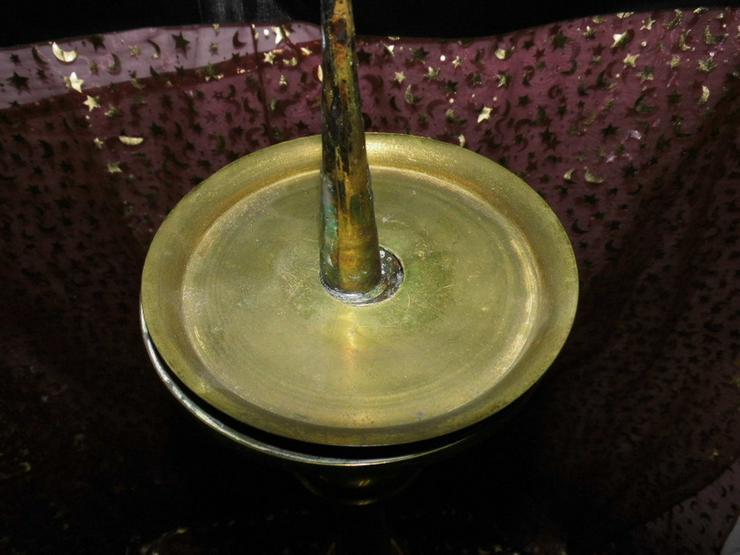 Bild 6: Antiker sakraler Kerzenhalter / Altarleuchter
