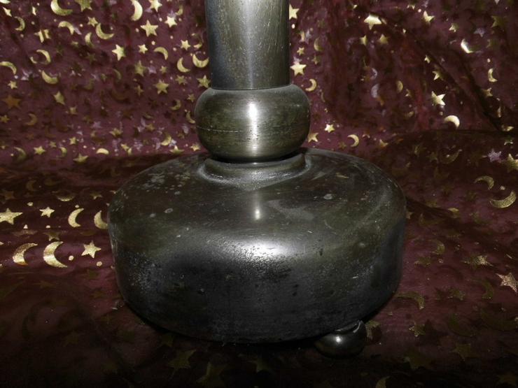 Bild 4: Antiker Kerzenhalter / Großer Altarleuchter Zi