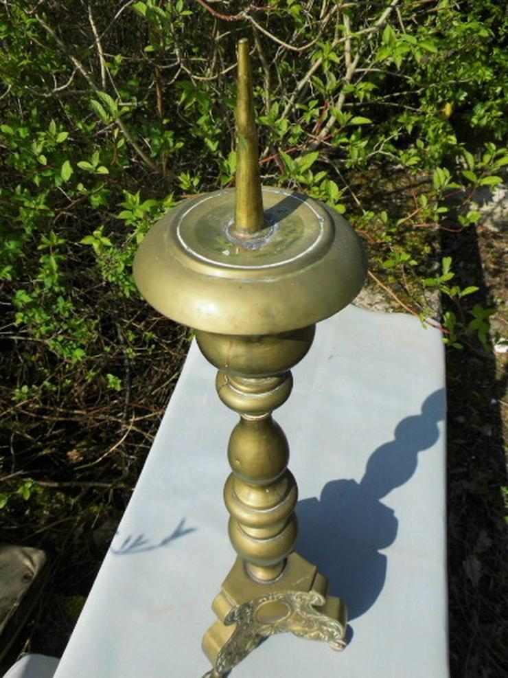 Bild 2: Antiker sakraler Kerzenhalter / Barock-Stil Al