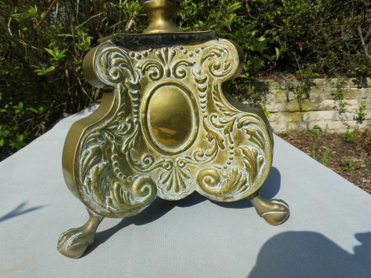 Bild 5: Antiker Barock-Stil Kerzenhalter / sakraler Al