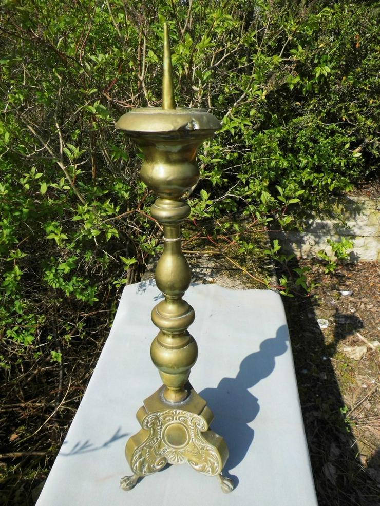 Antiker Barock-Stil Kerzenhalter / sakraler Al - Kerzen & Kerzenständer - Bild 1
