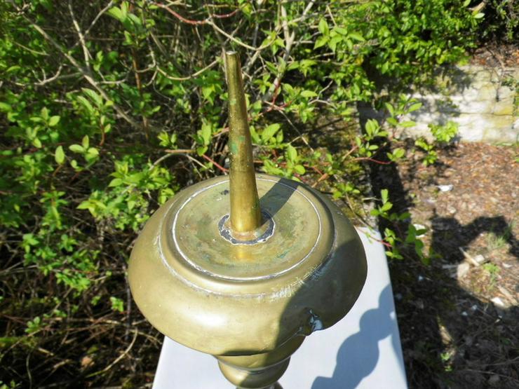 Bild 2: Antiker Barock-Stil Kerzenhalter / sakraler Al