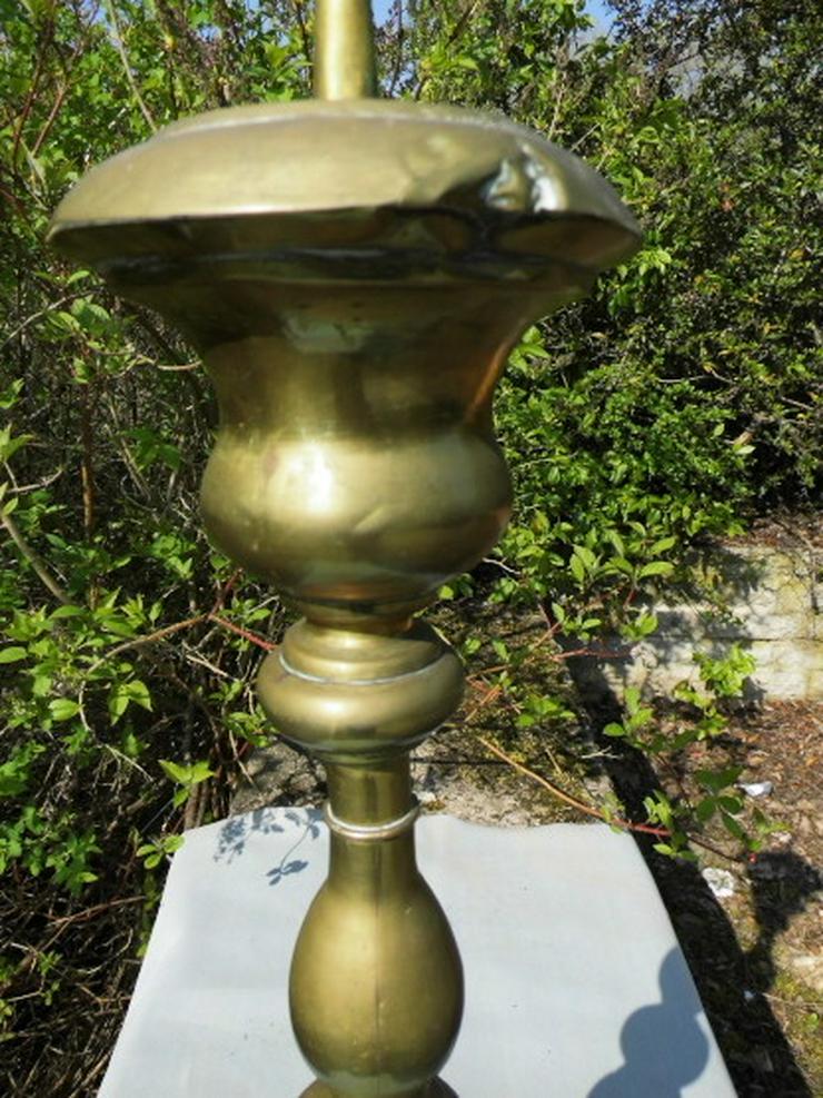 Bild 4: Antiker Barock-Stil Kerzenhalter / sakraler Al