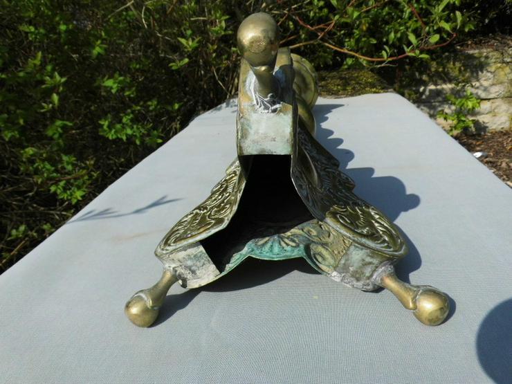 Bild 8: Antiker Barock-Stil Kerzenhalter / sakraler Al