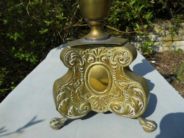 Bild 5: Antiker Barock-Stil Kerzenhalter / Altarleucht