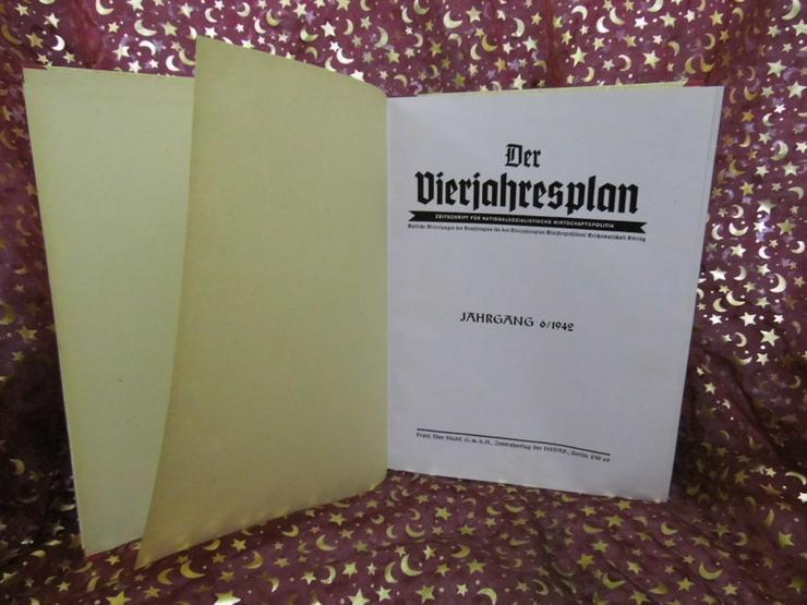 Gebundener Jahrgang 1942 Zeitschrift Der Vierj - Zeitschriften & Zeitungen - Bild 1