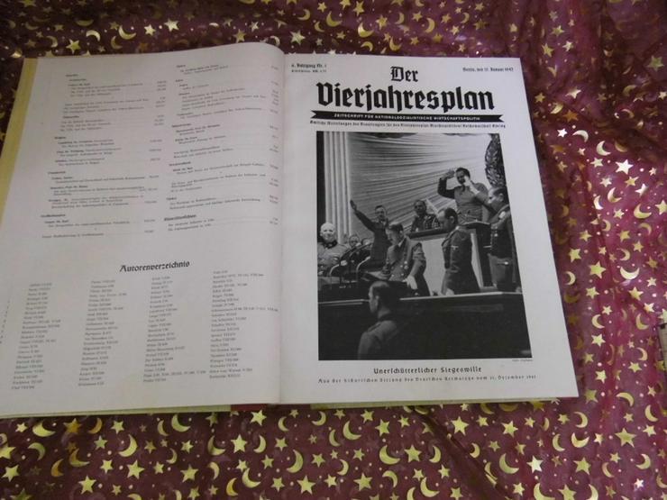 Bild 3: Gebundener Jahrgang 1942 Zeitschrift Der Vierj
