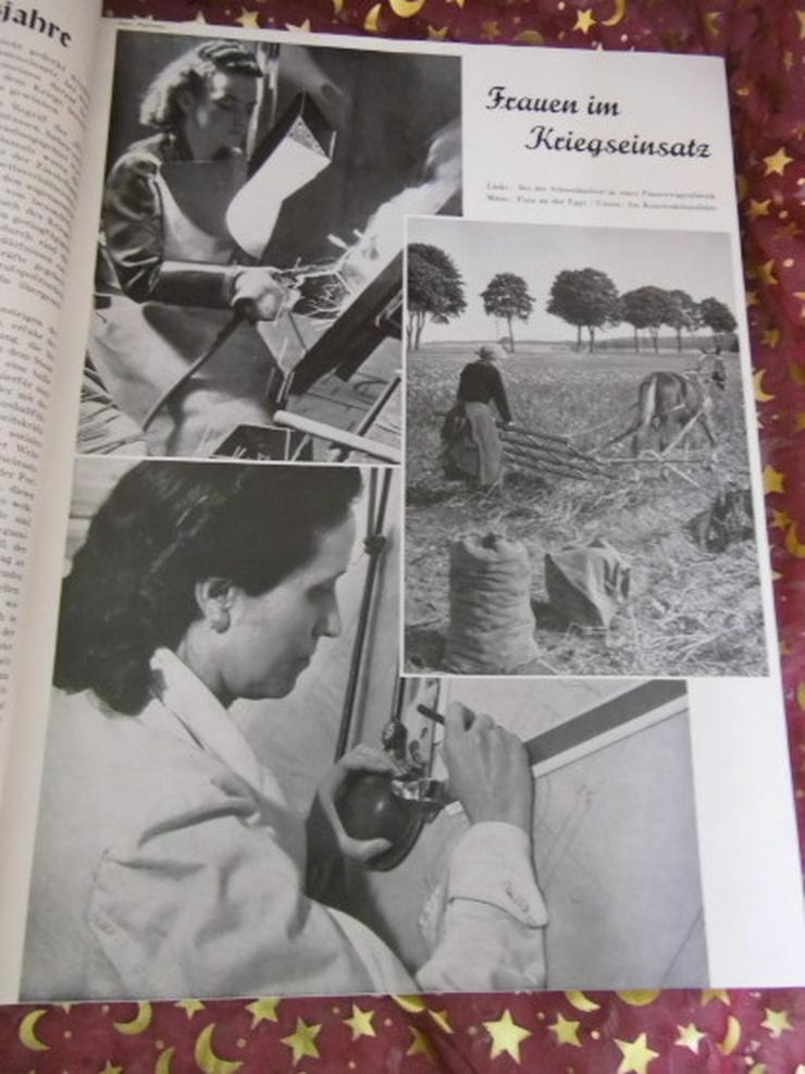 Bild 5: Gebundener Jahrgang 1942 Zeitschrift Der Vierj
