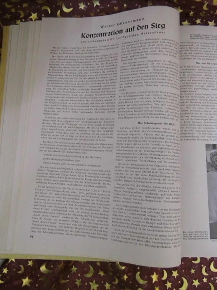 Bild 6: Gebundener Jahrgang 1942 Zeitschrift Der Vierj
