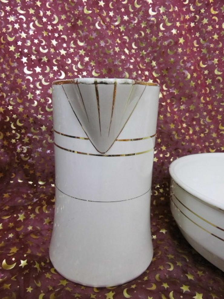 Bild 3: Antikes Waschset 4tlg. / Schönes Keramik Toile