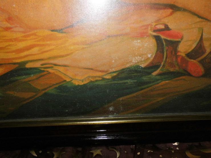 Bild 4: Antiker Holz-Bilderrahmen mit Aktbild ca.1910