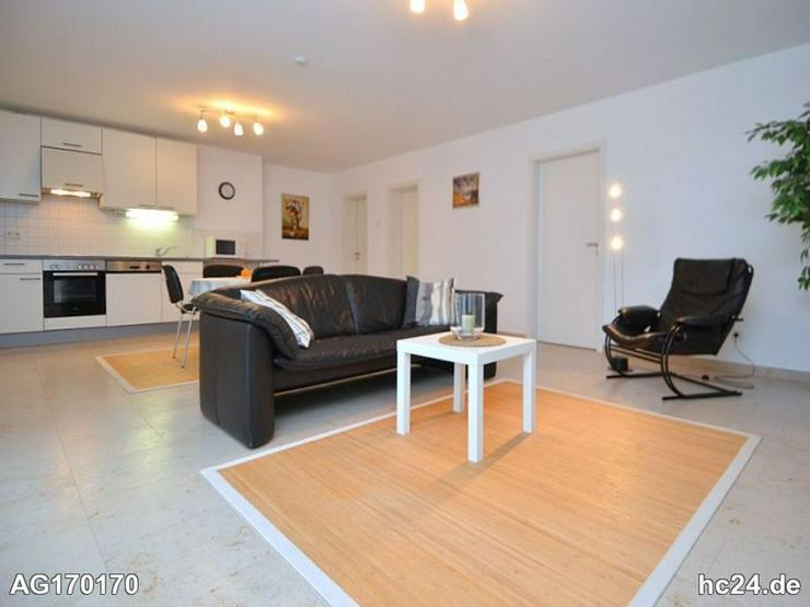 Möblierte 3-Zimmer Wohnung mit Internetanschl., Stellplatz und Terrasse in Wiesbaden
