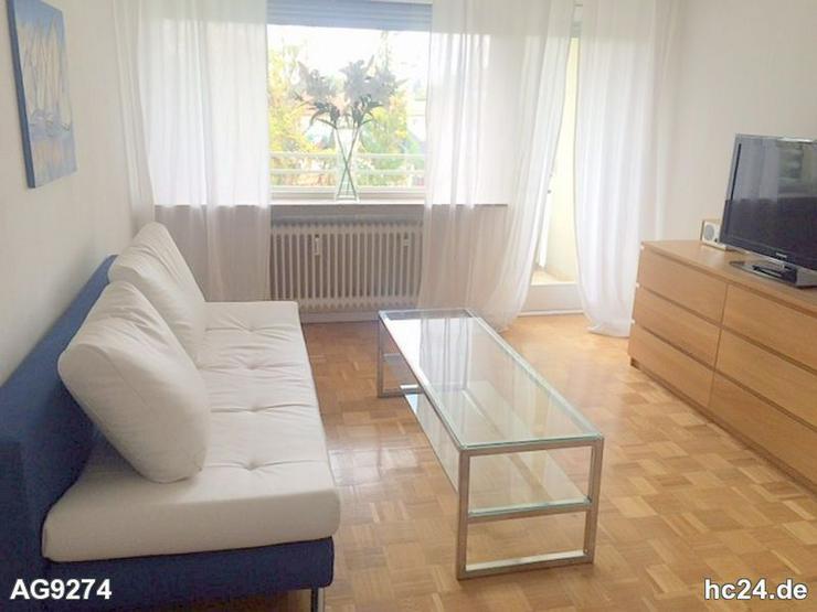 Modern möblierte 2-Zimmer-Wohnung mit Balkon in Neumarkt - Bild 1