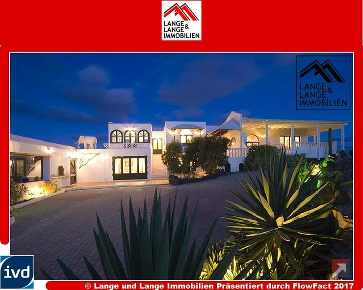 Lanzarote - Macher - einzigartige Villa Tegoyo mit beheiztem Pool- Spanien Immobilien