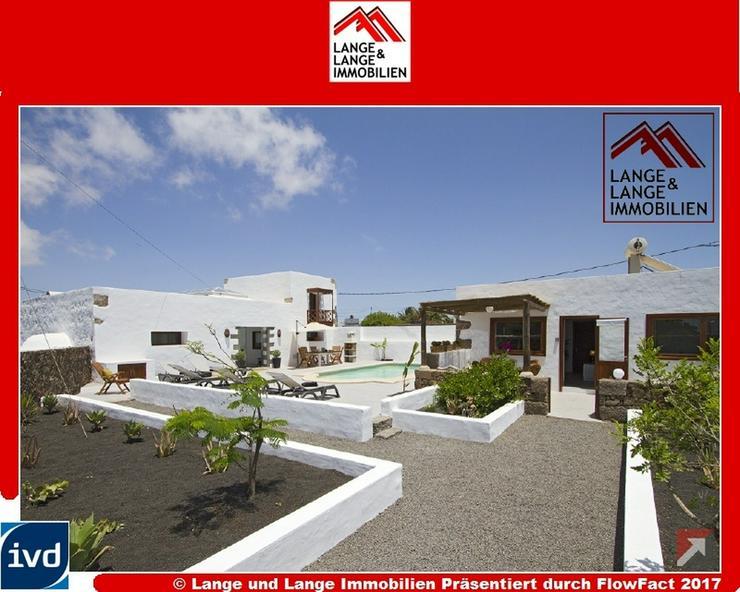 Lanzarote - Tiagua - modernisiertes Schmuckstück mit Geschichte im Herzen der Insel - Spa... - Bild 1