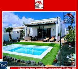 Lanzarote - Chaco de Palo - feines möbliertes Chaelt mit Pool - Spanien Immobilien