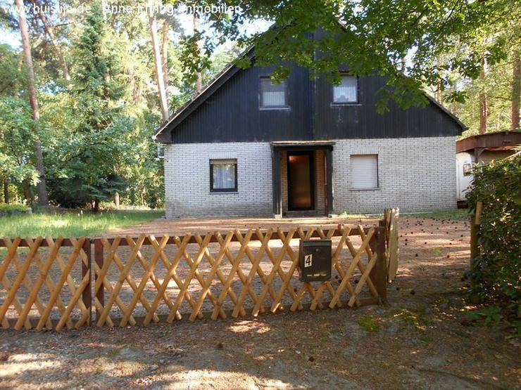 Kleines Einfamilienhaus im Wald