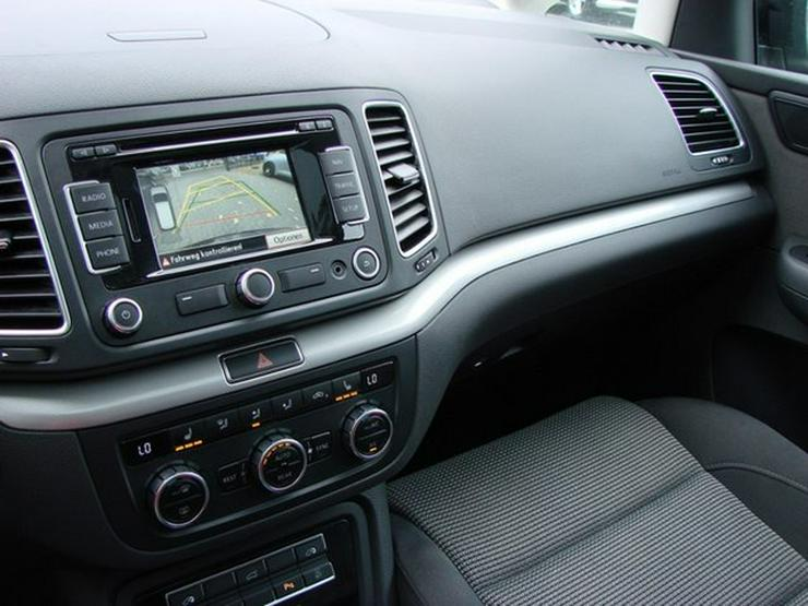 Bild 13: VW Sharan 2.0 TDI DSG Comfortline 7-Sitzer Panorama Navi Xenon