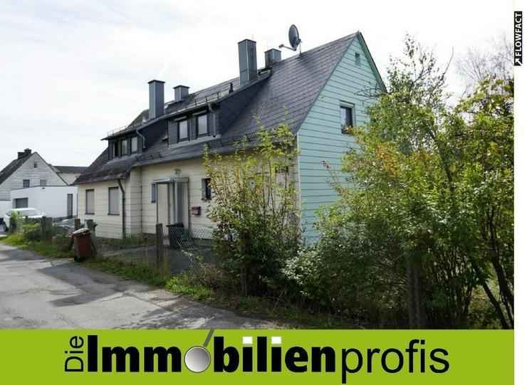 Renovierungsbedürftiges 1-2 Familienhaus mit großem Grundstück am Stadtrand von Hof - Bild 1