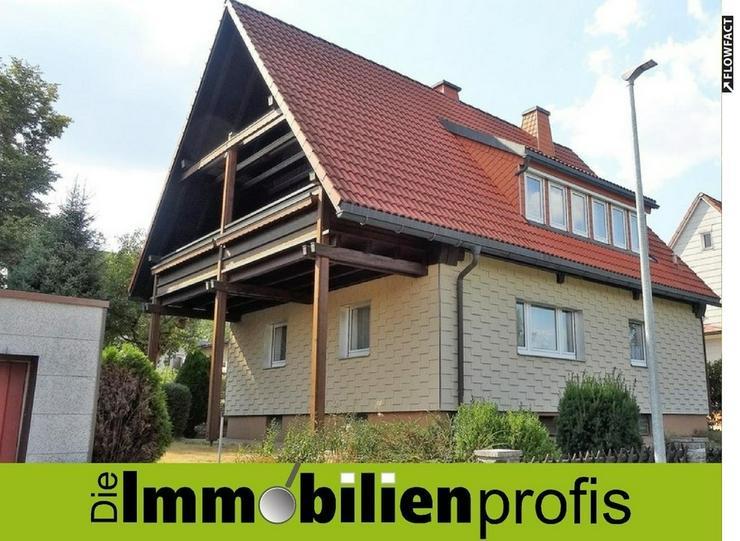 Gepflegtes 1-2 Familienhaus mit Balkon und Garage in Wunsiedel - Bild 1
