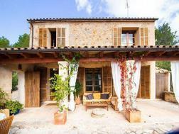 LANGZEITMIETE: rustikales Chalet in S'Arraco mit 4 Schlafzimmern