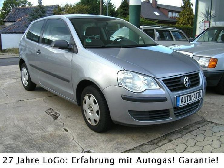 Bild 3: VW Polo IV Trendline LPG Autogas = tanken für 59 Ct.