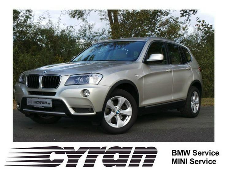 BMW X3 xDrive20d Aut. Navi AHK Memory Xenon PDC SHZ