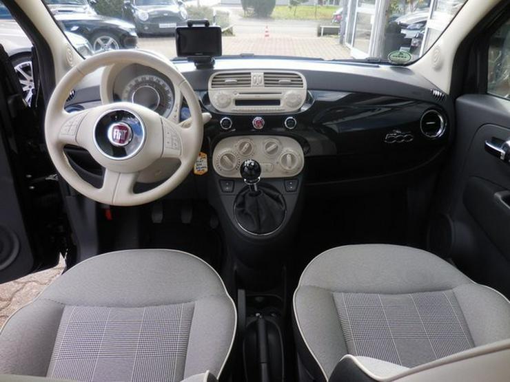 Bild 3: FIAT 500 >Lounge< Panorama NAVI Bluet Alus 63Kw uvm