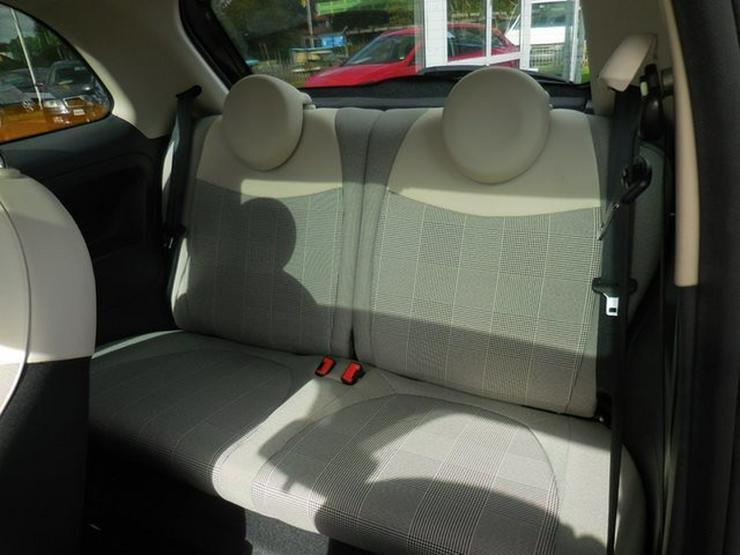 Bild 6: FIAT 500 >Lounge< Panorama NAVI Bluet Alus 63Kw uvm