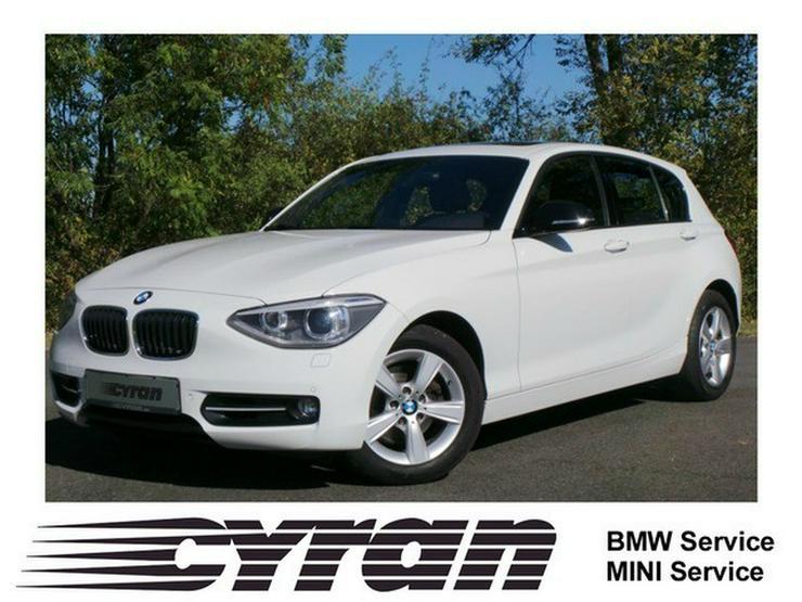 BMW 120d Sport Line Navi Xenon SHZ PDC GSD - 1er Reihe - Bild 1