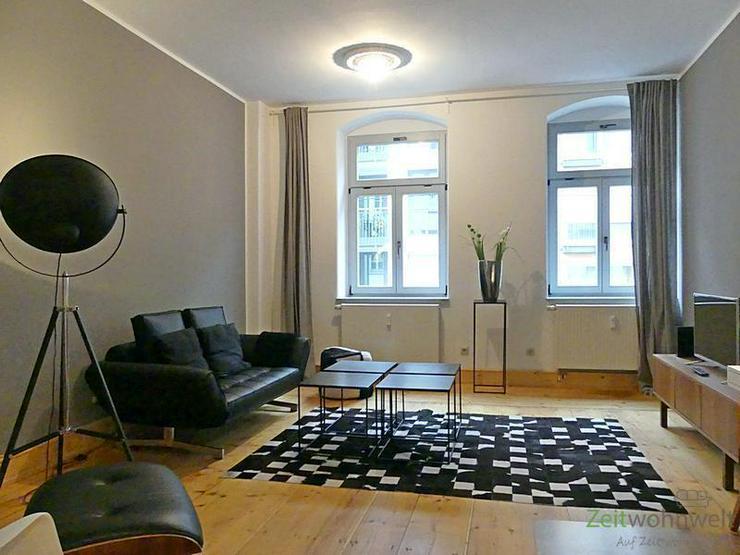 (EF0438_M) Dresden: Äußere Neustadt, Top-modern möblierte Oase der Ruhe im angesagten C...