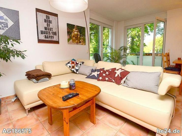 Möblierte 2-Zimmer Wohnung mit Internet, Waschmaschine und Terrasse in Wiesbaden