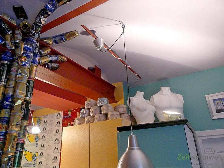 Bild 5: (EF0439_M) Dresden: Cotta, knallbuntes möbliertes Apartment im verrückten PopArt-Stil, r...