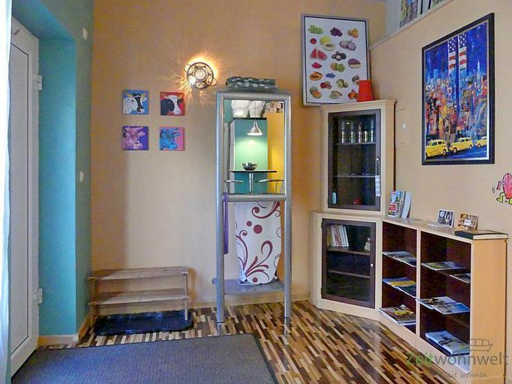Bild 2: (EF0439_M) Dresden: Cotta, knallbuntes möbliertes Apartment im verrückten PopArt-Stil, r...
