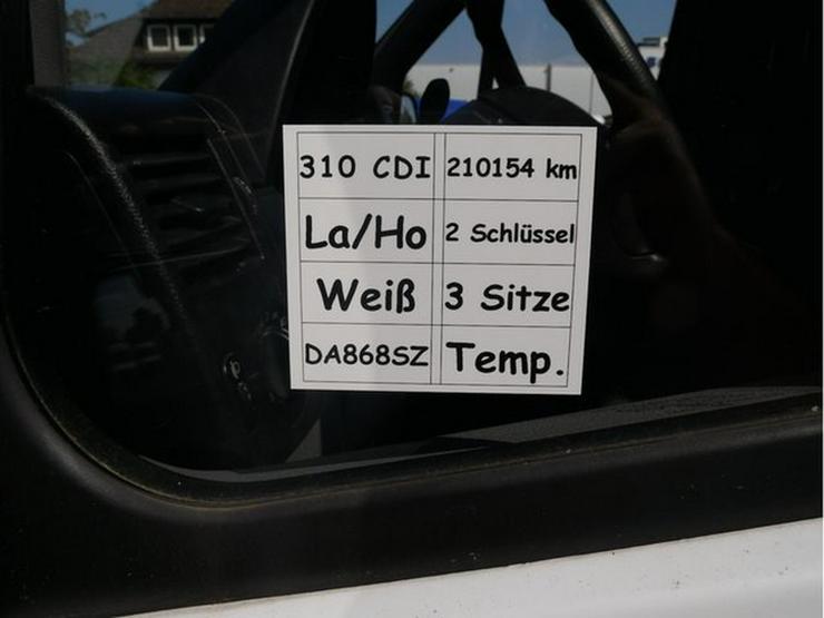 Bild 5: MERCEDES-BENZ Sprinter II Kasten 310 CDI hoch lang 3 Sitzer